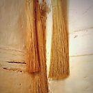 three Brooms by Kenneth Hoffman