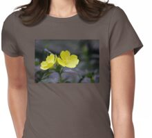 Evening Primrose Womens Fitted T-Shirt