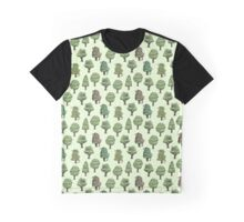 Decorated Trees Graphic T-Shirt
