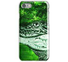 Croc Justin Beck Picture 2015084 iPhone Case/Skin
