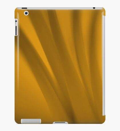 Warm Sepia Stems iPad Case/Skin