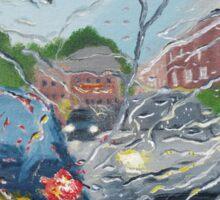 Rainy Day In Bolton Sticker