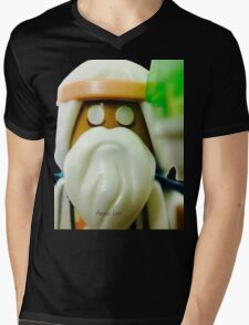 The Blind Sage Vitruvius, can always be your voice of reason Mens V-Neck T-Shirt