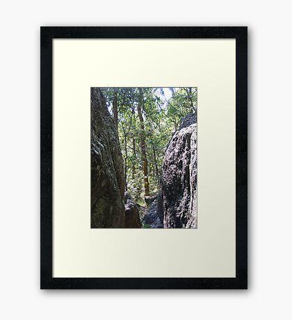 Rocking framing Framed Print