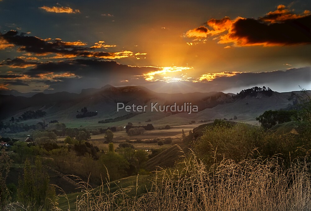 The Last Ray of Sun by Peter Kurdulija