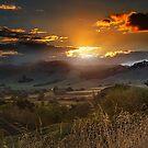 The Last Ray of Sun by Peter Kurdulija