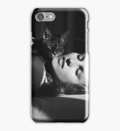 Anna's cat iPhone Case/Skin