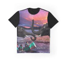 Fighting Elephants Justin Beck Picture 2015091 Graphic T-Shirt