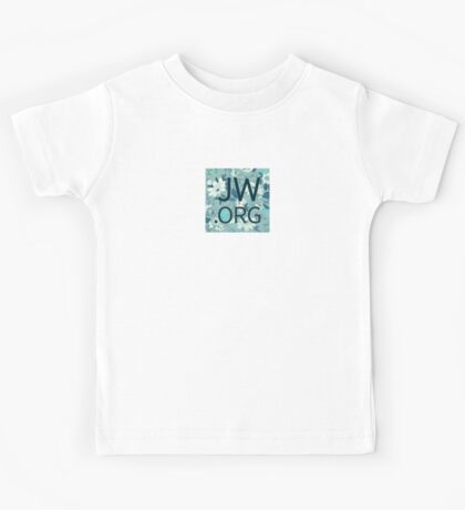 JW.org (white and blue flowers) Kids Tee