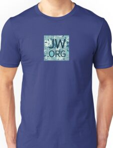 JW.org (white and blue flowers) Unisex T-Shirt