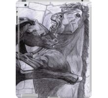 Fighting Horses Justin Beck Picture 2015092 iPad Case/Skin