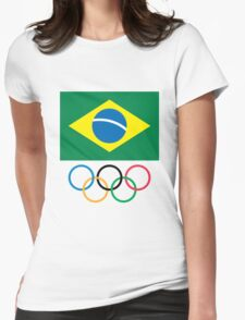 Brazilian Olympic Committee Womens Fitted T-Shirt