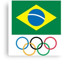 Brazilian Olympic Committee Canvas Print