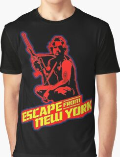 Snake Plissken (Escape from New York) Colour 2 Graphic T-Shirt