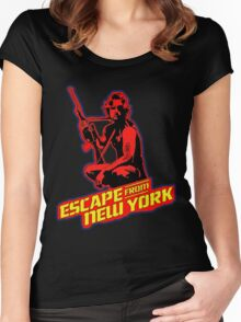 Snake Plissken (Escape from New York) Colour 2 Women's Fitted Scoop T-Shirt
