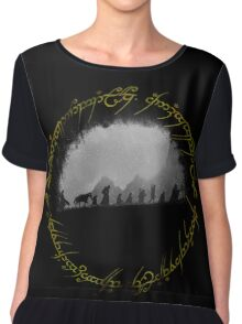 The Lord of The Rings Chiffon Top