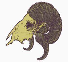 Ram skull by SmokingSheep