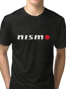 Nismo White Tri-blend T-Shirt
