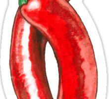 Hot peppers Sticker