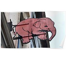 Seeing Pink Elephants? Poster