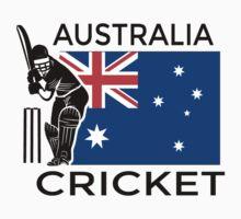 Australia Cricket Kids Tee