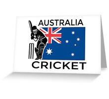 Australia Cricket Greeting Card
