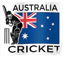 Australia Cricket Poster