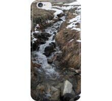 River Andorra La Vella iPhone Case/Skin