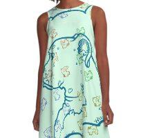Miko Perfil Minto 1 A-Line Dress