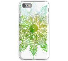 Spun - Green gold iPhone Case/Skin