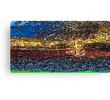 Picture 2015058 Justin Beck Sunset bay Canvas Print