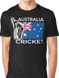 Australia Cricket Graphic T-Shirt
