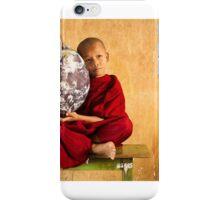 Love the Earth Monk - Yangon, Myanmar iPhone Case/Skin