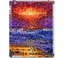 Picture 2015061 Justin Beck wave sunset iPad Case/Skin
