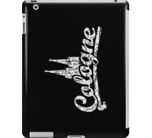 Cologne Classic Vintage Schwarz/Weiß iPad Case/Skin
