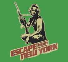 Snake Plissken (Escape from New York) Vintage Kids Tee