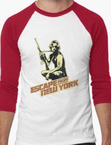 Snake Plissken (Escape from New York) Vintage Men's Baseball ¾ T-Shirt
