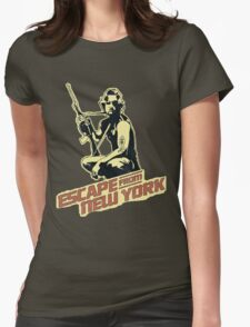 Snake Plissken (Escape from New York) Vintage Womens Fitted T-Shirt
