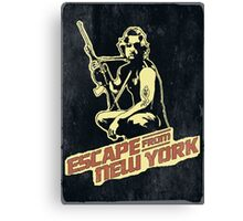 Snake Plissken (Escape from New York) Vintage Canvas Print