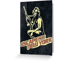 Snake Plissken (Escape from New York) Vintage Greeting Card