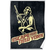 Snake Plissken (Escape from New York) Vintage Poster