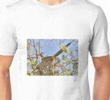 Roadrunner In The Desert Willow Tree Unisex T-Shirt