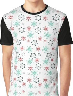 Tender flowers. Beautiful flower pattern. Graphic T-Shirt