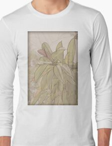 Rubber tree AKA Rubber fig (Ficus elastica)  Long Sleeve T-Shirt