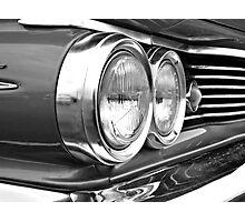 Frontal (black & white) Photographic Print