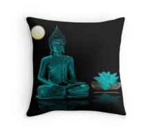 Buddha Yoga Zen Throw Pillow