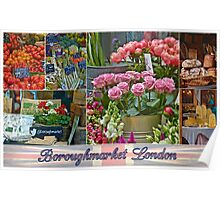 Boroughmarket London  Poster
