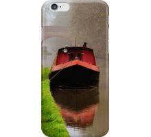 Narrowboat on the Canal iPhone Case/Skin