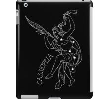 Cassiopeia Constellation Print  iPad Case/Skin