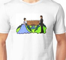 Pride and Prejudice Illustration - Elizabeth and Mr. Darcy Unisex T-Shirt